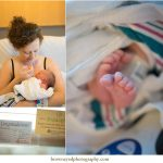 newborn baby at the hospital